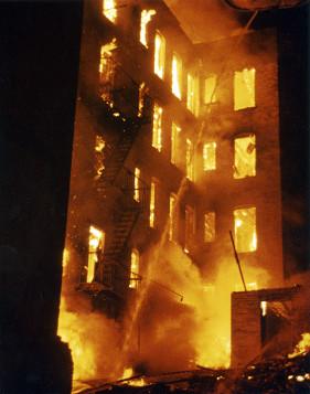 Un incendio nel South Bronx