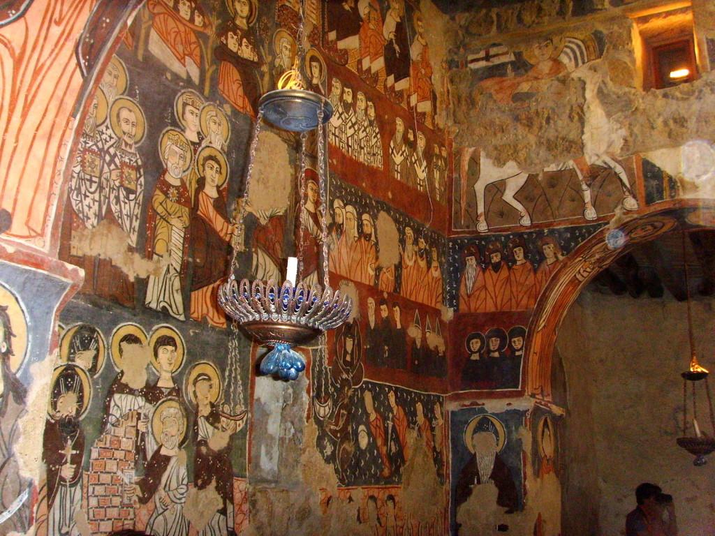 Affreschi del  monastero di San Mosè l'Etiope in Siria