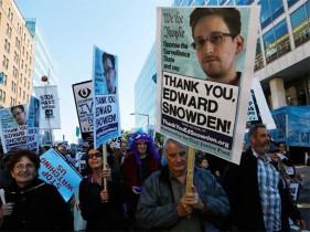Manifestazione contro la NSA