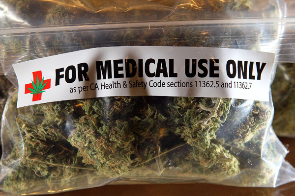 Marjiuana venduta per uso medico