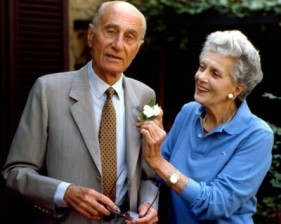 Colette Rosselli e Indro Montanelli