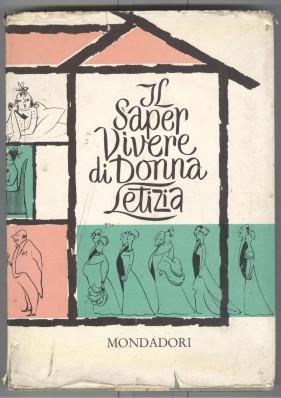 Copertina del libro 'Il Saper vivere di Donna Letizia'