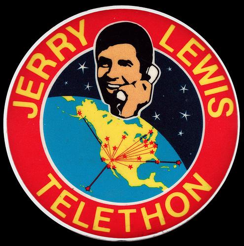 Immagine promozionale del telethon condotto da Jerry Lewis