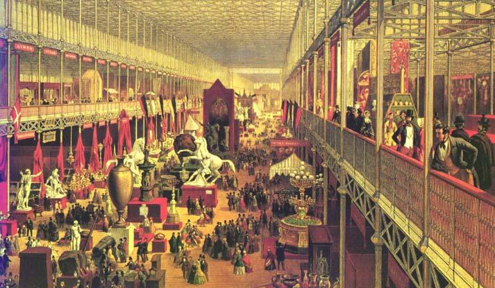 L'esibizione di Londa al Crystal Palace nel 1851