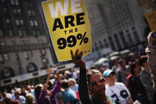 Manifestazione del movimento Occupy Wall Street