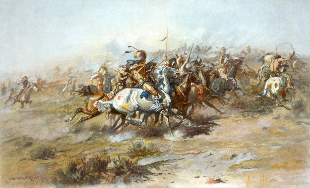 The Custer Fight, dipinto di Charles Marion Russell