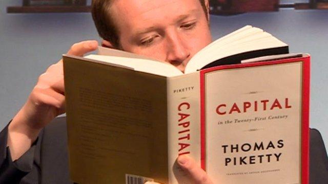 "Il libro ""Capital in the Twenty First Century"""