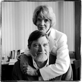 Patricia Churchland e il marito Paul