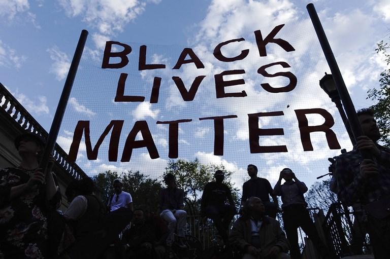 Una manifestazione del gruppo Black Lives Matter
