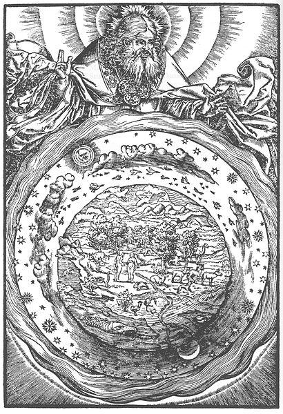 Illustrazione della Bibbia di Lutero, che include la traduzione del Nuovo Testamento di Erasmo